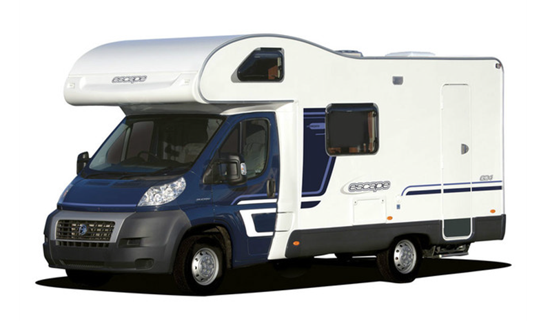 5 berth Swift Escape 624 Southwell Motorhome Hire