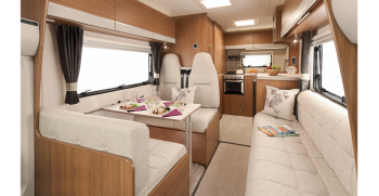 5 berth Tribute T620 Southwell Motorhome Hire